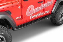 Romik RAL Running Boards for 18+ Jeep Wrangler JL Unlimited 613144-