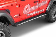 Romik RZR Series Running Boards for 18+ Jeep Wrangler JL Unlimited 31314418