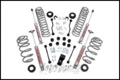 """Rough Country 3¼"""" Suspension Spring & Spacer Lift System With Premium N3.0 Series Shocks For 2003-06 Jeep Wrangler TJ & Jeep Wrangler TJ Unlimited (4 Cylinder Models) 643.20"""