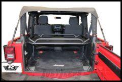 Rampage Rear Interior Sport Rack For 2007+ Jeep Wrangler JK Unlimited 2 Door 86624