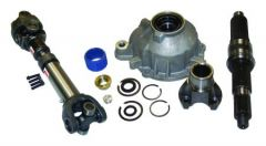 RT Off-Road Transfer Case Slip Yoke Eliminator and Shaft Kit For 1987-06 Jeep Models With NP231 Transfer Case RT24004