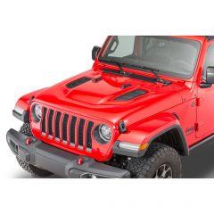 Mopar Mopar Rubicon Hood Kit for 18+ Jeep Wrangler JL & 20+ Gladiator JT 82215373AD
