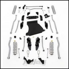 "Rubicon Express 4.5"" Extreme Duty 4-LINK Front & Rear Long Arm Lift Kit Without Shocks For 2007-18 Jeep Wrangler JK 2 Door Models JK4424"