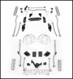 """Rubicon Express 4.5"""" Extreme Duty 4-Link Front With Rear Radius Long Arm Lift Kit Without Shocks For 2007-18 Jeep Wrangler JK 2 Door Models JK4R24"""