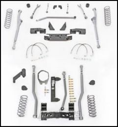 "Rubicon Express 3.5"" Extreme Duty Radius Front With Rear 3-Link Long Arm Lift Kit Without Shocks For 2007-18 Jeep Wrangler JK 2 Door Models JKR323"