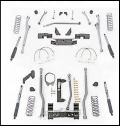 """Rubicon Express 3.5"""" Extreme Duty Radius Front With Rear 3-Link Long Arm Lift Kit & Mono-Tube Shocks For 2007-18 Jeep Wrangler JK 2 Door Models JKR323M"""