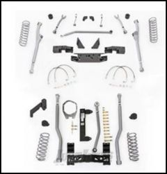 """Rubicon Express 3.5"""" Extreme Duty Radius Front With Rear 3-Link Long Arm Lift Kit Without Shocks For 2007-18 Jeep Wrangler JK 4 Door Unlimited Models JKR343"""