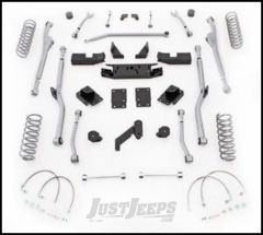 "Rubicon Express 3.5"" Extreme Duty Radius Front & Rear Long Arm Lift Kit Without Shocks For 2007-18 Jeep Wrangler JK 2 Door Models JKRR23"