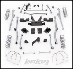 """Rubicon Express 4.5"""" Extreme Duty Radius Front & Rear Long Arm Lift Kit Without Shocks For 2007-18 Jeep Wrangler JK 2 Door Models JKRR24"""