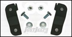 Rubicon Express Front Brake Line Relocation Brackets For 2007-18 Jeep Wrangler JK 2 Door & Unlimited 4 Door RE1507