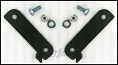 Rubicon Express Rear Brake Line Relocation Brackets For 2007-18 Jeep Wrangler JK 2 Door & Unlimited 4 Door RE1508