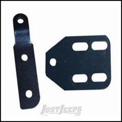Rubicon Express Steering Stabalizer Relocation Bracket For 2007-18 Jeep Wrangler JK 2 Door & Unlimited 4 Door RE2510
