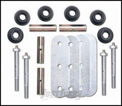 "Rubicon Express 4"" Greaseable Shackle Kit Front or Rear For 1987-95 Jeep Wrangler YJ RE2755"