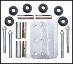 "Rubicon Express 5"" Greaseable Shackle Kit Front or Rear For 1987-95 Jeep Wrangler YJ RE2766"