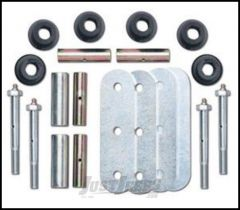 "Rubicon Express 1"" Lift Greaseable Shackle Kit Front For 1976-86 Jeep CJ Series RE2781"