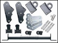 Rubicon Express Front Shackle Reverse Kit For 1987-95 Jeep Wrangler YJ RE2800