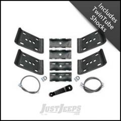 """Rubicon Express 5.5"""" Spring-Over Conversion Lift Kit With Twin Tube Shocks For 1987-95 Jeep Wrangler YJ RE5015T"""