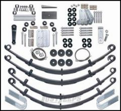 """Rubicon Express 4.5"""" Extreme-Duty Suspension System Without Shocks For 1987-95 Jeep Wrangler YJ RE5520"""
