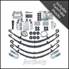 "Rubicon Express 4.5"" Extreme-Duty Suspension System With Twin Tube Shocks For 1987-95 Jeep Wrangler YJ RE5520T"