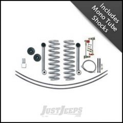 """Rubicon Express 3.5"""" Super-Flex Suspension System With Rear Add-A-Leaf Kit With Mono Tube Shocks For 1984-01 Jeep Cherokee XJ RE6010M"""