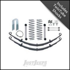 "Rubicon Express 3.5"" Super-Ride Suspension System With Rear Complete Springs With Twin Tube Shocks For 1984-01 Jeep Cherokee XJ RE6025T"