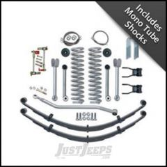 "Rubicon Express 4.5"" Super-Flex Suspension System With Rear Complete Springs With Mono Tube Shocks For 1984-01 Jeep Cherokee XJ RE6130M"