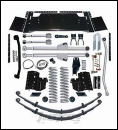 """Rubicon Express 5.5"""" Extreme-Duty Long Arm Suspension System Without Shocks For 1984-01 Jeep Cherokee XJ RE6300"""