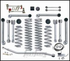"""Rubicon Express 4.5"""" Super-Flex Suspension System With Upper Adjustable Control Arms Without Shocks For 1997-06 Jeep Wrangler TJ Models RE7000"""