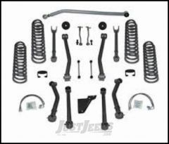 """Rubicon Express 3.5"""" Super-Flex System With Twin Tube Shocks For 2007-18 Jeep Wrangler JK 2 Door RE7123T"""