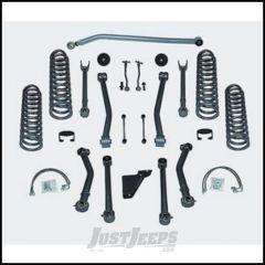 "Rubicon Express 4.5"" Super-Flex System Without Shocks For 2007-18 Jeep Wrangler JK 2 Door RE7124"