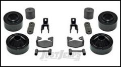 """Rubicon Express 2"""" Spacer Lift System Without Shocks For 2007-18 Jeep Wrangler JK 2 Door & Unlimited 4 Door RE7132"""