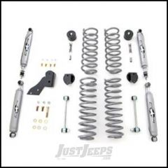"Rubicon Express 2.5"" Spring Suspension System With Twin Tube Shocks For 2007+ Jeep Wrangler JK 4 Door RE7141T"