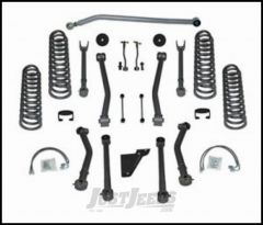 """Rubicon Express 3.5"""" Super-Flex System With Twin Tube Shocks For 2007-18 Jeep Wrangler JK 4 Door Unlimited RE7143T"""