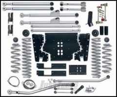 "Rubicon Express 4.5"" Extreme-Duty Long Arm Kit With Rear Track Bar Kit Without Shocks For 2003-06 Jeep Wrangler TJ RE7214"