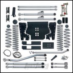 """Rubicon Express 3.5"""" Extreme-Duty Long Arm Kit With Rear Track Bar Kit Without Shocks For 2004-06 Jeep Wrangler TLJ Unlimited RE7223"""