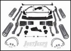 """Rubicon Express 4.5"""" Extreme-Duty Long Arm Lift Kit Without Shocks For 2007-18 Jeep Wrangler JK 2 Door RE7354"""