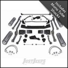 """Rubicon Express 4.5"""" Extreme-Duty Long Arm Lift Kit With Mono Tube Shocks For 2007-18 Jeep Wrangler JK 2 Door RE7354M"""