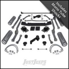 """Rubicon Express 3.5"""" Extreme-Duty Long Arm Lift Kit With Mono Tube Shocks For 2007-18 Jeep Wrangler JK 4 Door Unlimited RE7363M"""