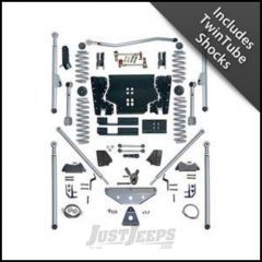 """Rubicon Express 4.5"""" Extreme-Duty Long Arm Lift Kit with Rear Tri-Link With Twin Tube Shocks For 2003-06 Jeep Wrangler TJ RE7514T"""