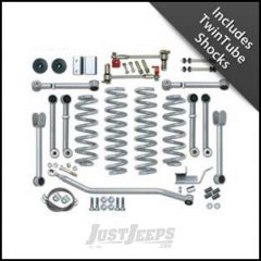 "Rubicon Express 4.5"" Super-Flex Suspension System With Twin Tube Shocks For 1993-98 Jeep Grand Cherokee ZJ RE8000T"
