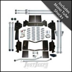 """Rubicon Express 4.5"""" Extreme-Duty Long Arm Suspension System With Mono Tube Shocks For 1993-98 Jeep Grand Cherokee ZJ RE8300M"""