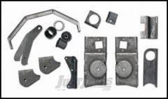 Rubicon Express Front Axle Swap-In Bracket Kit For 1997-06 Jeep Wrangler TJ Models RE9968