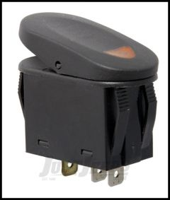 Rugged Ridge 2 Position Rocker SwitchIn Amber For Universal Applications 17235.01