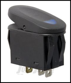 Rugged Ridge 2 Position Rocker SwitchIn Blue For Universal Applications 17235.03