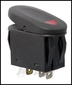 Rugged Ridge 2 Position Rocker SwitchIn Red For Universal Applications 17235.02