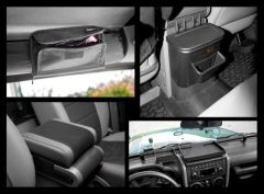 Rugged Ridge 4 Piece Interior Comfort Kit in Black For 2007-10 Jeep Wrangler & Wrangler Unlimited JK 12496.17