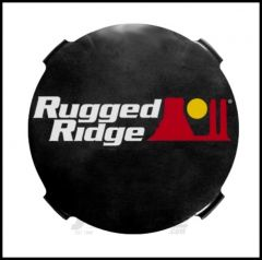 "Rugged Ridge 7"" HID Light Cover in Smoke For  7"" HID Lighting 15210.51"