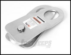 Rugged Ridge Snatch Block Pulley 8000lbs Zinc Plated 11235.12