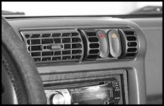 Rugged Ridge AC Vent Switch Pod With Switches For 1997-06 Jeep Wrangler TJ TJ Unlimited & Cherokee XJ 17235.80