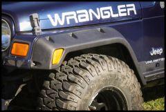 "Rugged Ridge All-Terrain 4.75"" Fender Flare Kit For 1997-06 Jeep Wrangler TJ & Unlimited 11630.20"